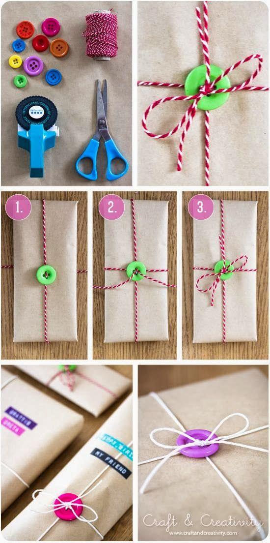 Una envoltura muy original! envolturas de regalos Pinterest - envoltura de regalos originales
