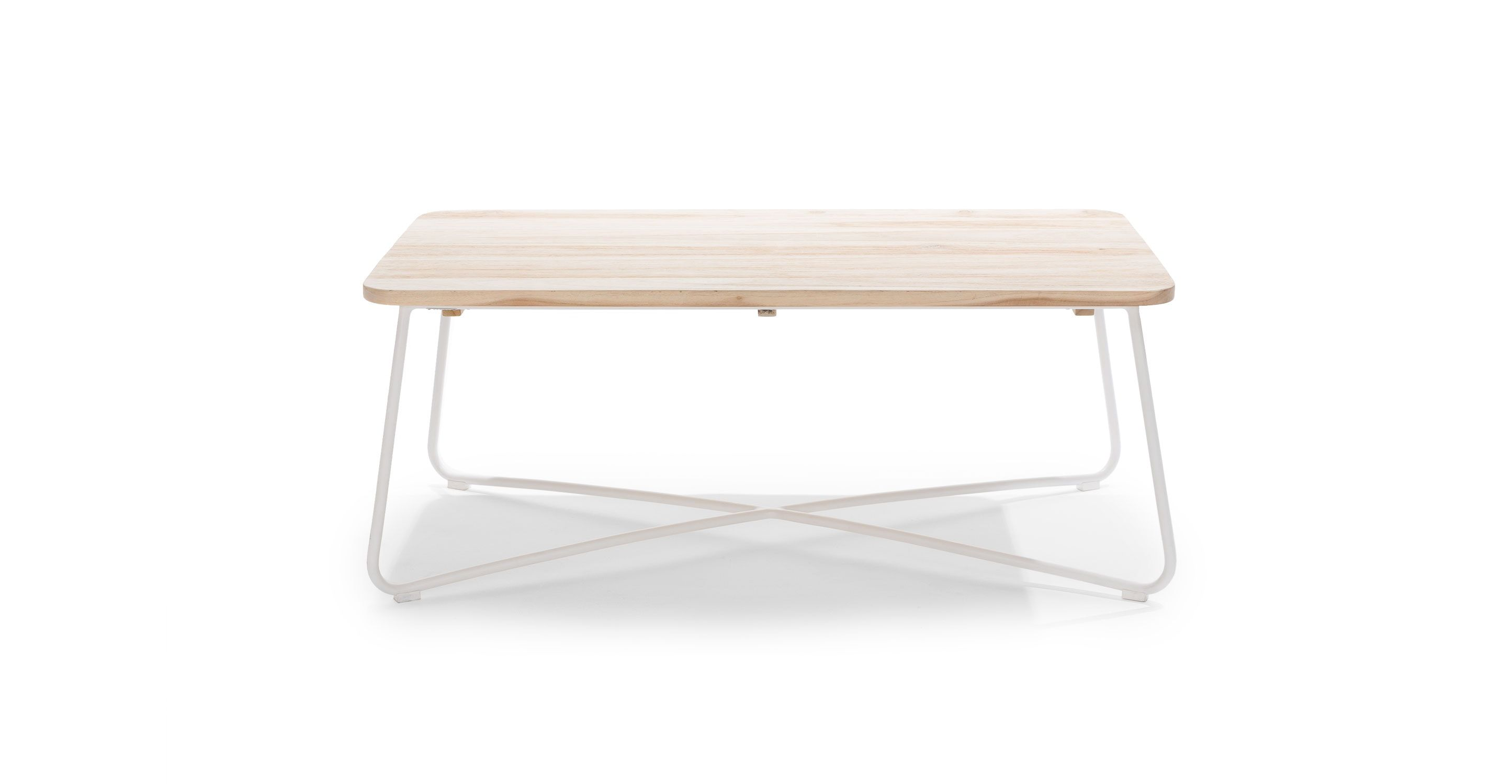 The Nimbus Table Has A Light And Airy Touch Thanks To Its Slender Legs And Criss Cross Powder C Mid Century Modern Coffee Table Coffee Table White Coffee Table [ 1500 x 2890 Pixel ]