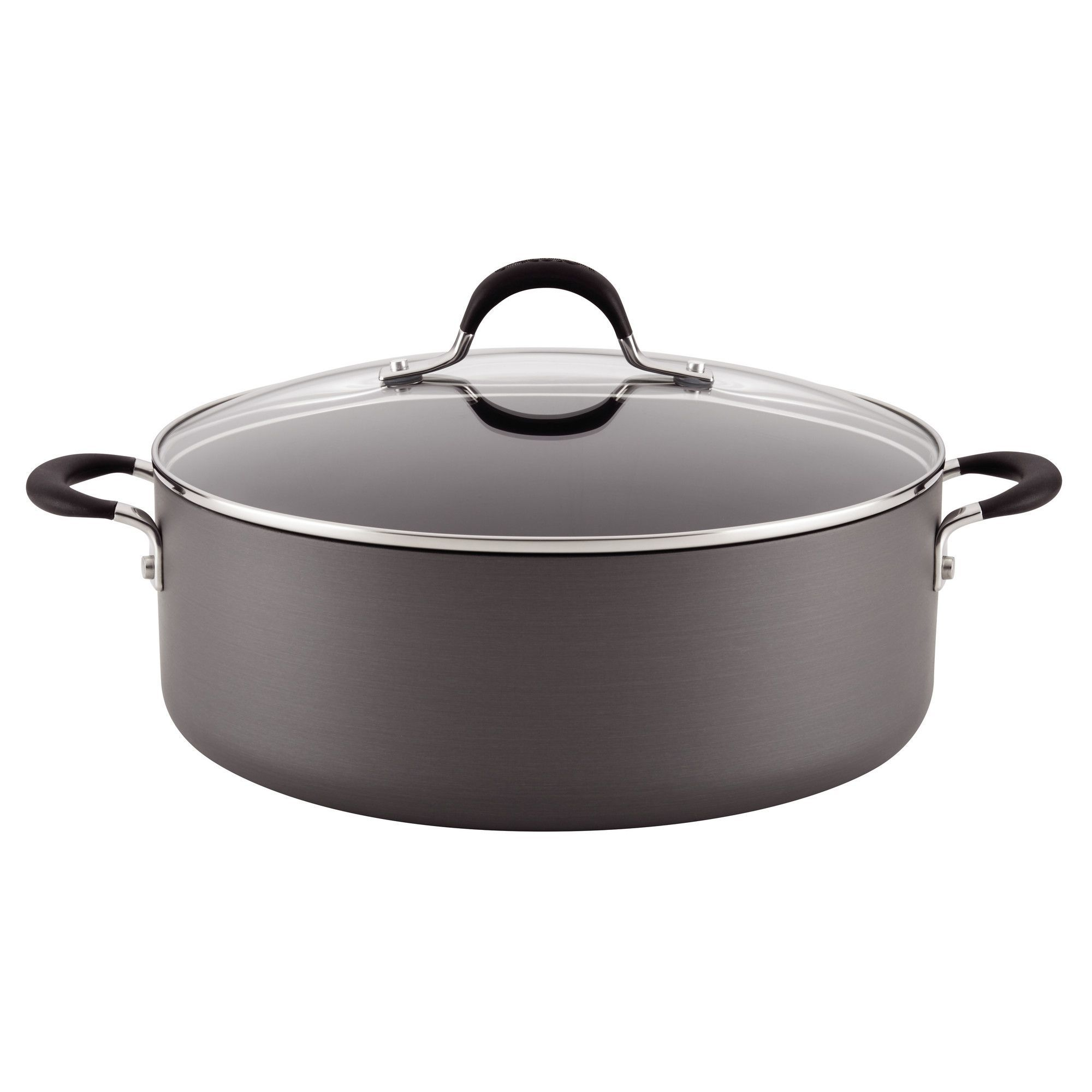 Momentum 7 5 Qt Stockpot With Lid Hard Anodized