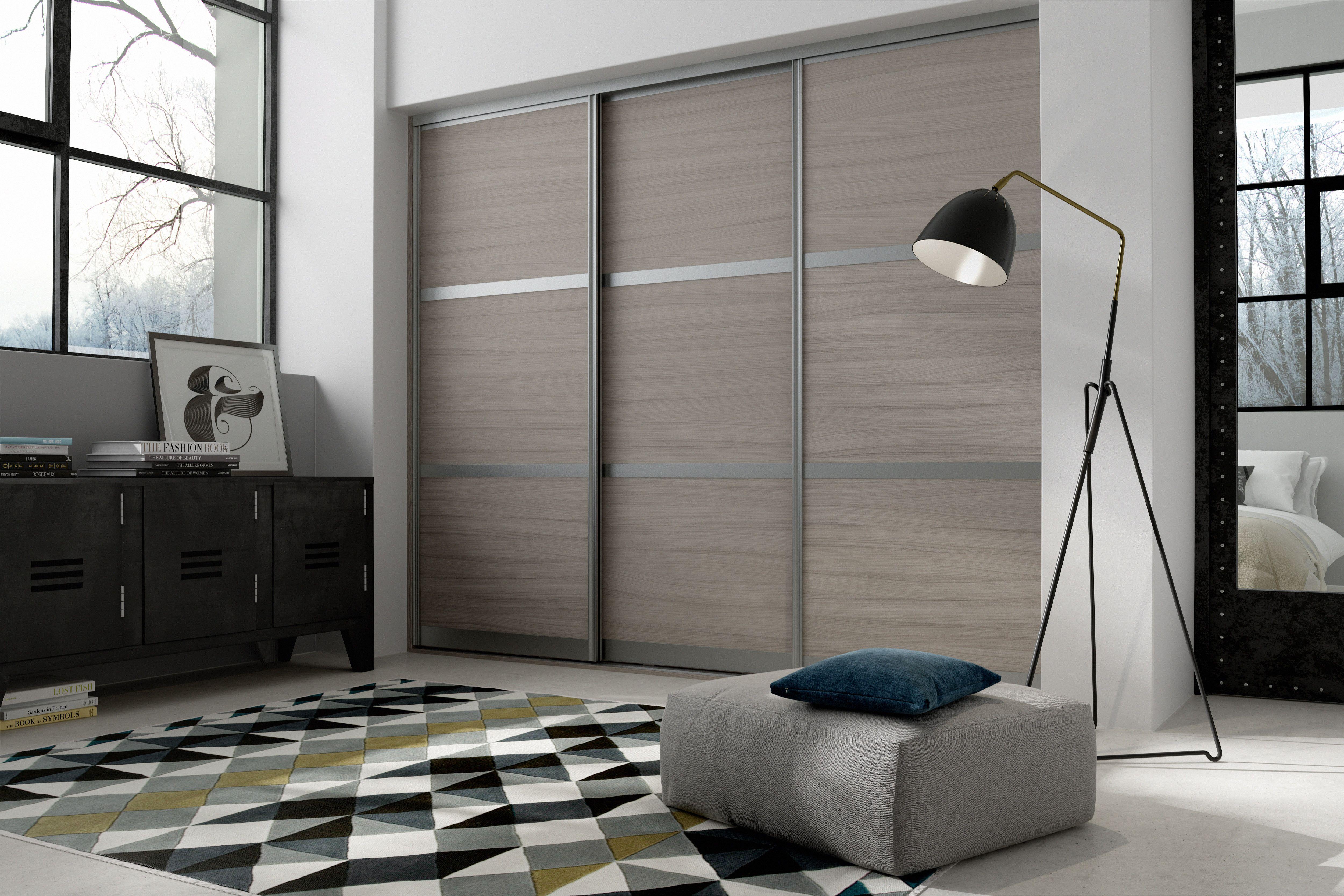 Modern Yet Traditional Sliding Doors For Bedroom Storage