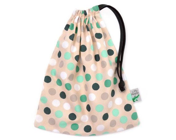 Spotty easter drawstring bag handmade in melbourne explore easter treats easter gift and more negle Images