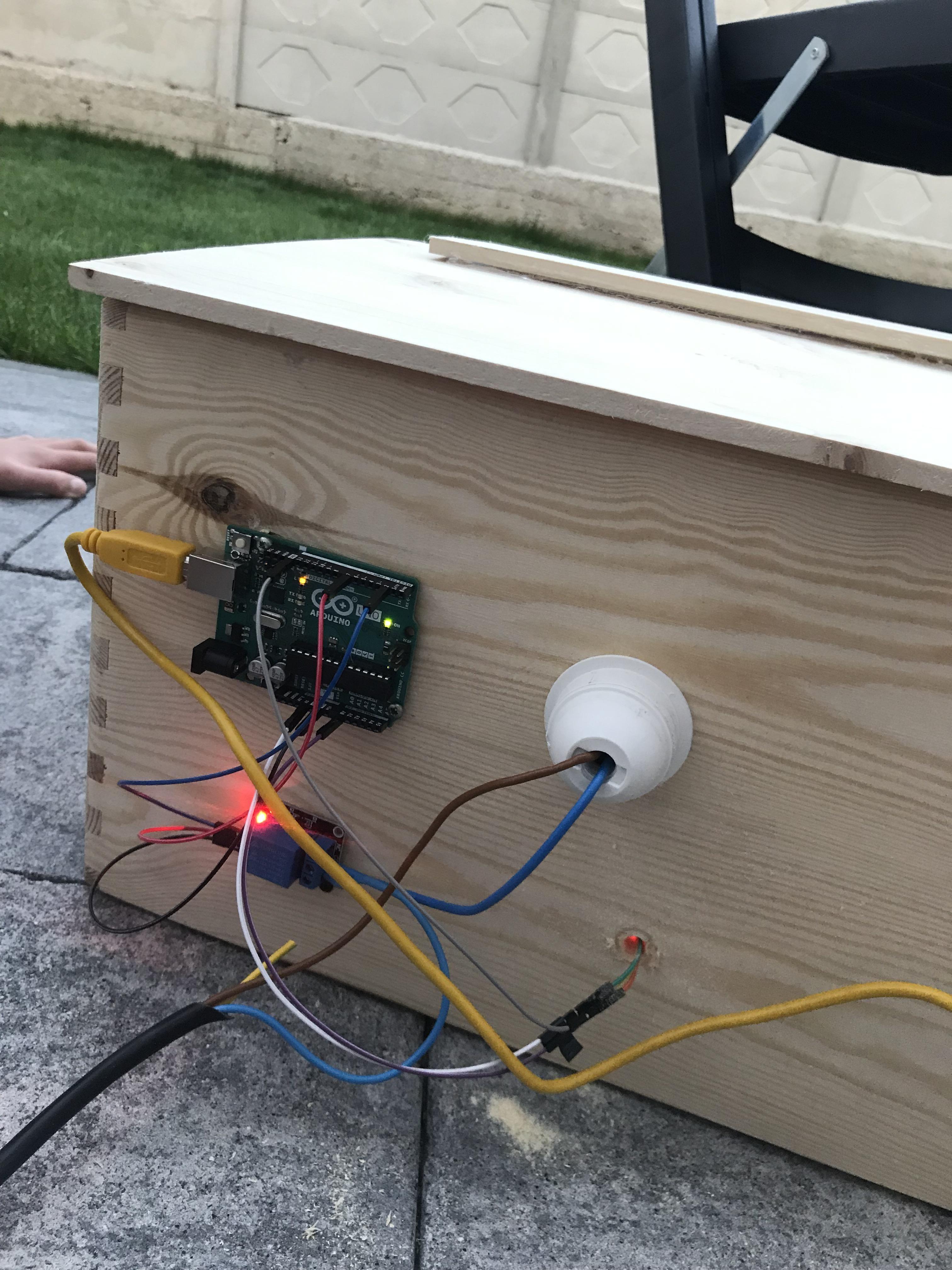 Arduino Incubator Arduino Incubator Electronics