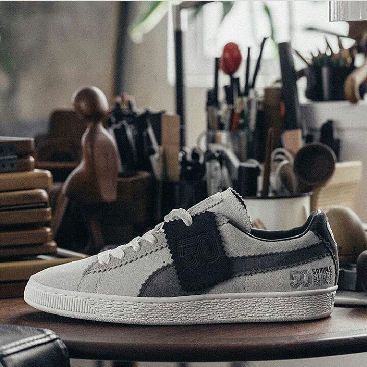 3941812cd96 Michael Lau x Puma Suede