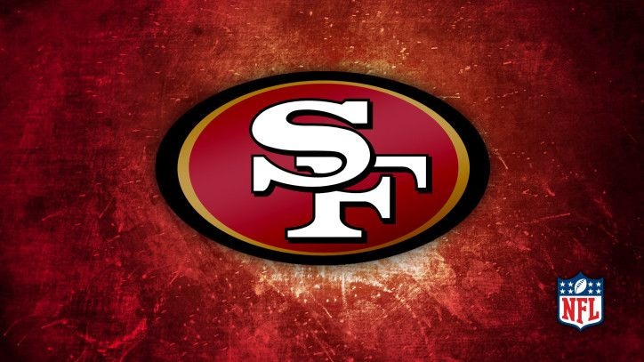 49ers Animated Graphics San Francisco 49ers Logo Background Wallpaper San Francisco 49ers San Francisco 49ers Logo Nfl Teams Logos San Francisco 49ers