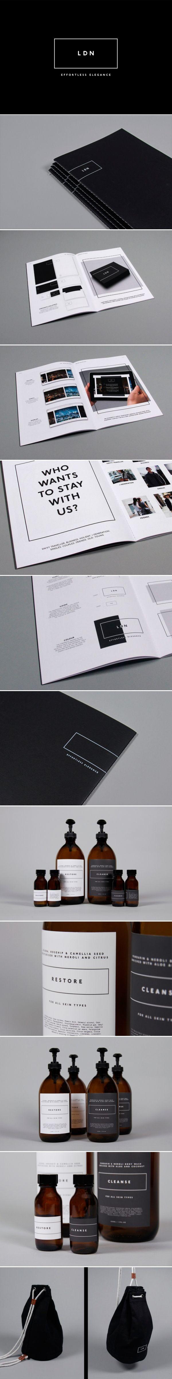 presentation. ldn hotelblacksheep | branding • 牌 | pinterest