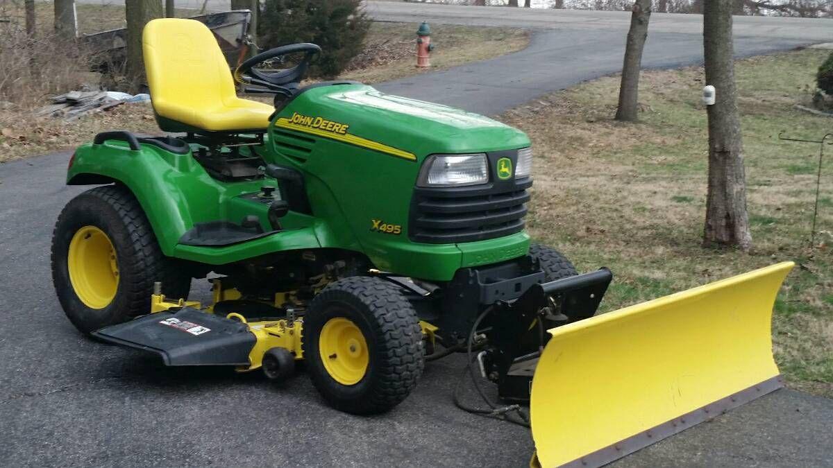 John Deere X495 diesel   L&G equipment   Tractors, John