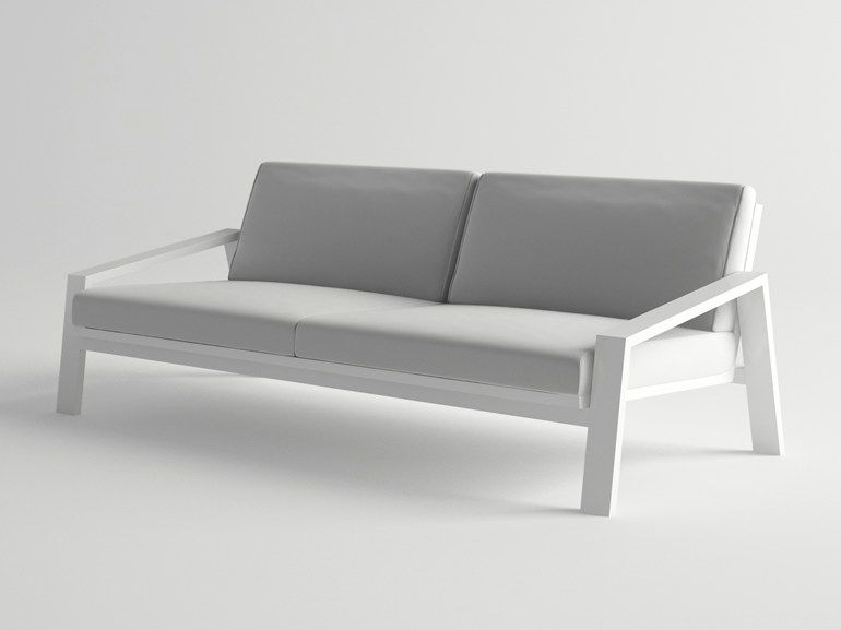 Aluminium Garden Sofa Pulvis Garden Sofa 10deka Metal Sofa