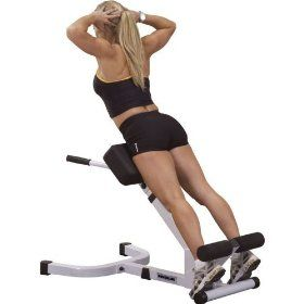 Fitness Back Hyper Extension Exercise Bench Hyperextension Roman Chair Lower