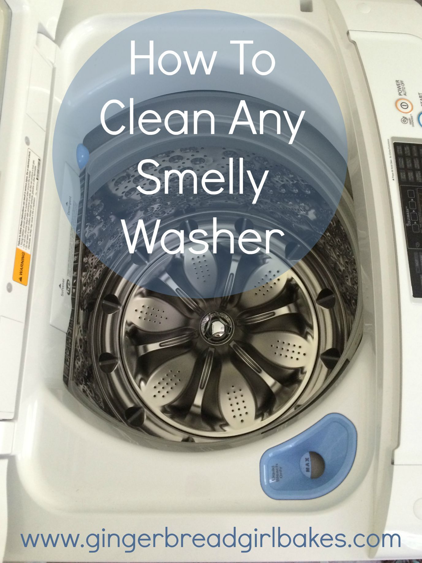 How To Clean Your Washing Machine Cleaning Hacks Clean Your