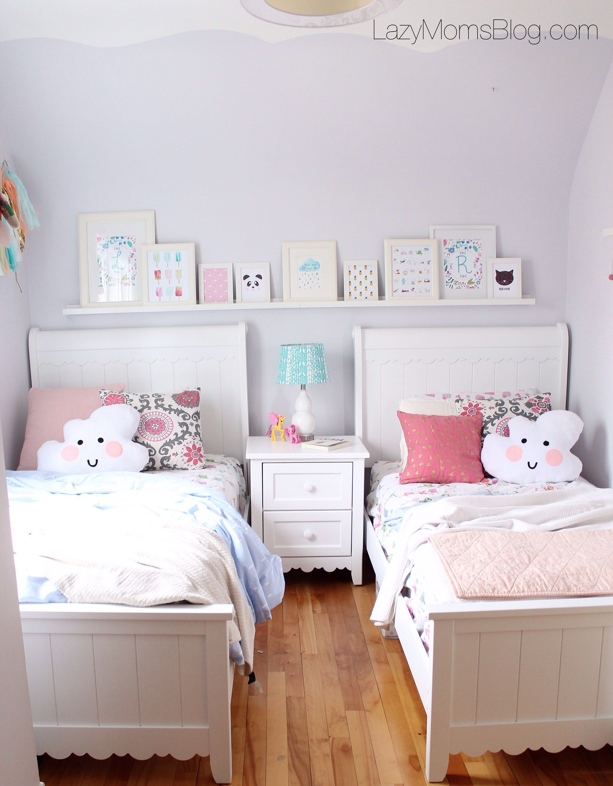 Girls Sheared Bedroom Reveal Kids Shared Bedroom Twin Girl