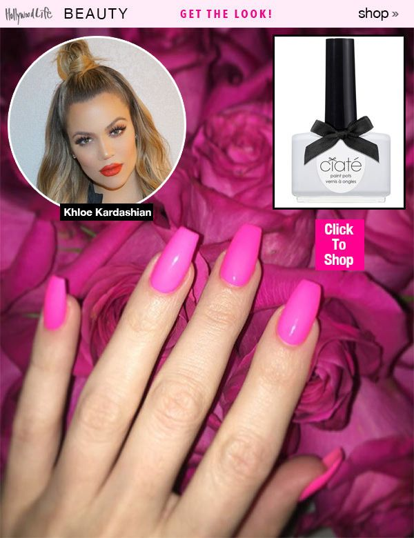 Khloe Kardashian\'s Nail Hack - Shop Her $15 Secret Weapon Polish ...