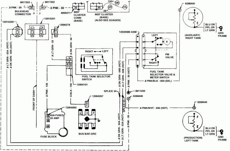 1964 Chevy Truck C10 Wiring Diagram and Chevy Alternator