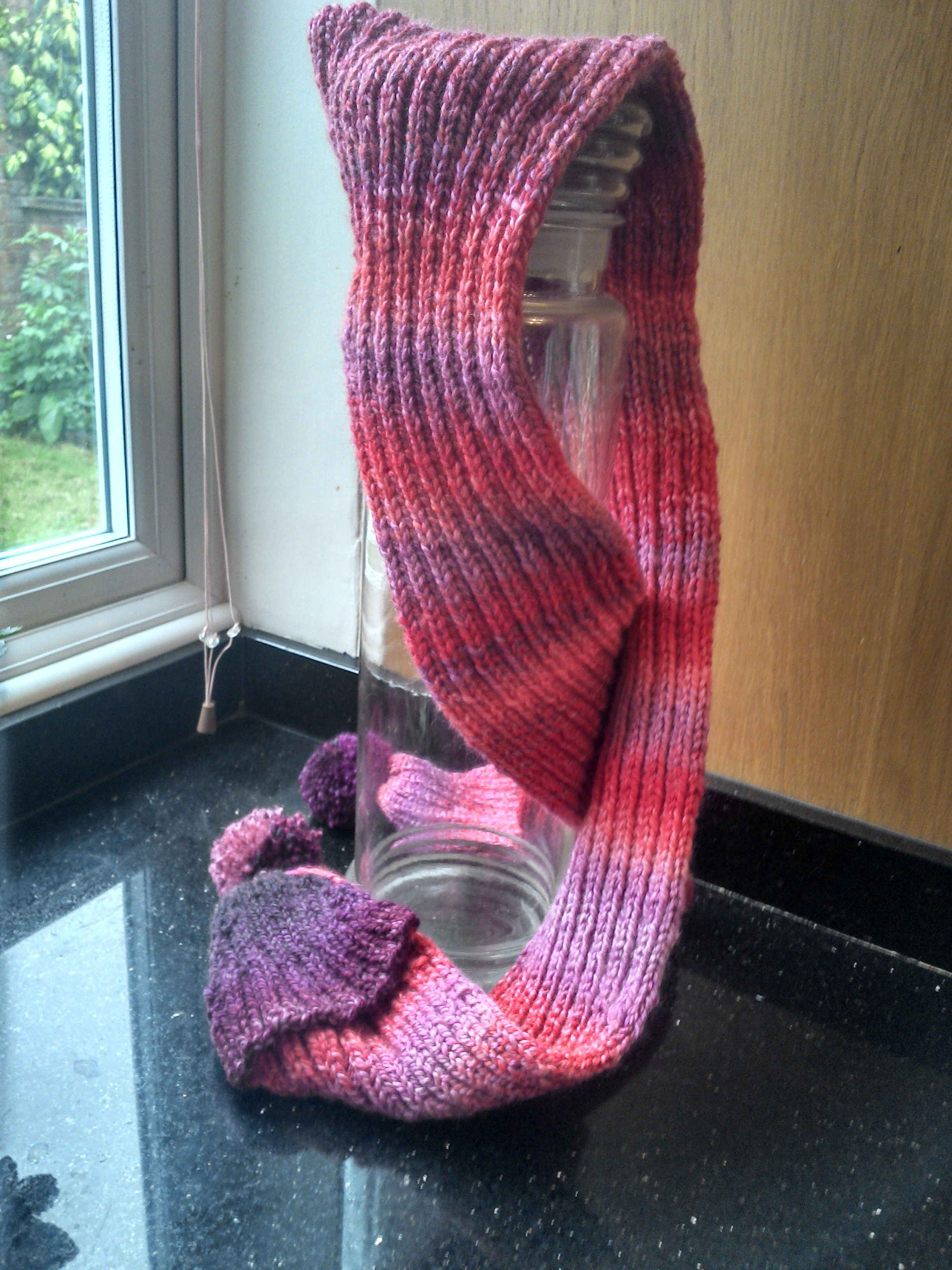 3 in 1 Scarf: a Solution to Keep out the Chill FREE knitting pattern ...