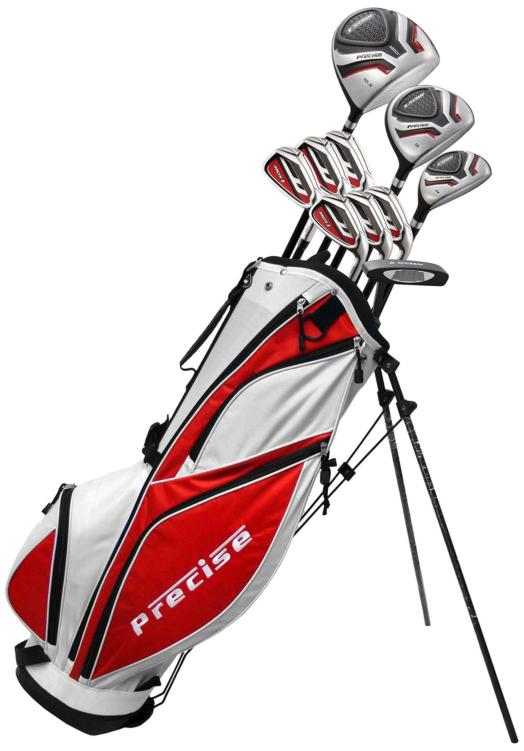 Golf Clubs Precise Mens 69000SR MDX II Complete Golf Set
