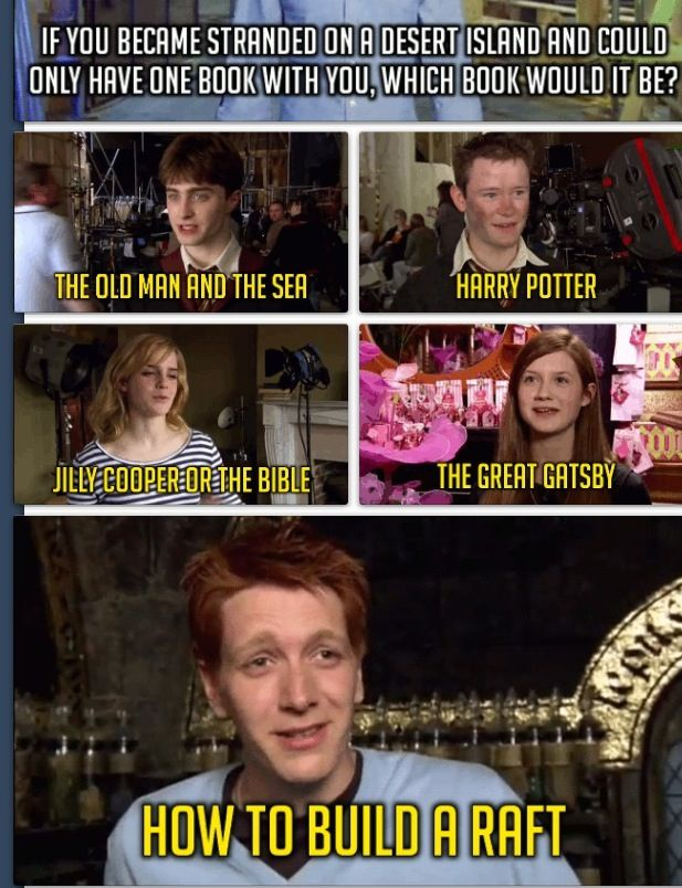 No One Wants To Read The Old Man And The Sea That Many Times I Don T Believe It Dan Nice Try But I Harry Potter Cast Harry Potter Memes Harry Potter