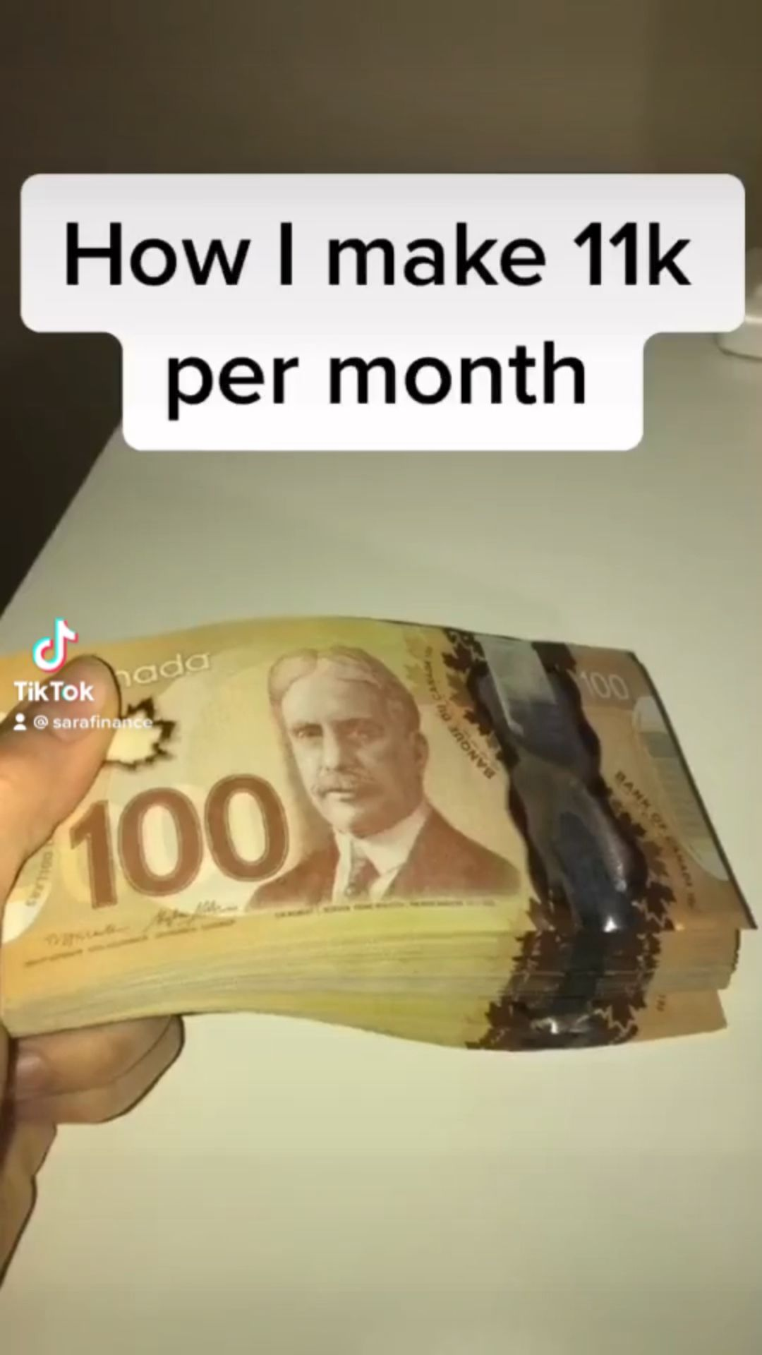I make $11k per month💰