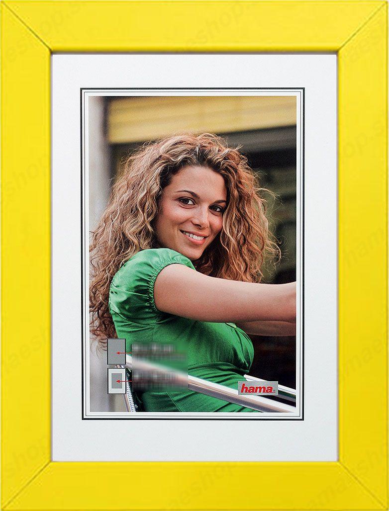 10x15 Room: Drevený Rám JESOLO 10x15 žltý Online Predaj