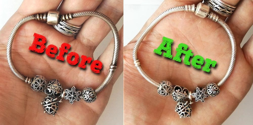 How to The Easiest Way How to Clean Silver Jewelry DIY