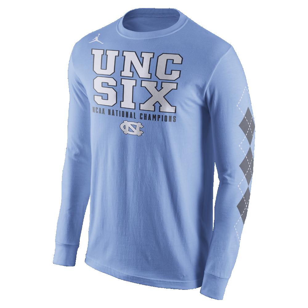 b13e949374c236 Jordan College Celebration (UNC) Men s Long Sleeve T-Shirt