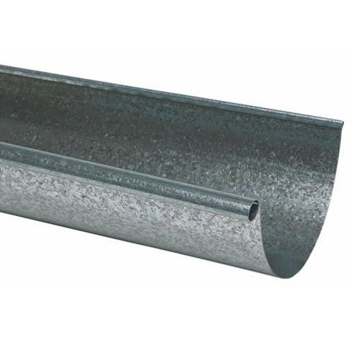 Amerimax L10285bx Half Round Rain Gutter 5 X 10 Galvanized Pack Of 5 Learn More By Visiting The Image Link Rain Gutters Gutter Galvanized