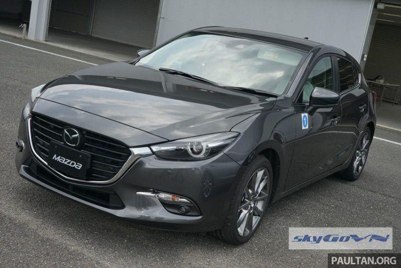 Mazda 3 2017 ra mắt với nhiều công nghệ hiện đại Mazda