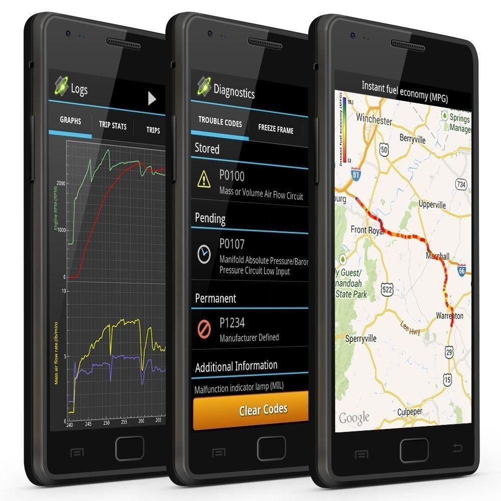 OBDLink LX Bluetooth Professional OBDII Scan Tool for