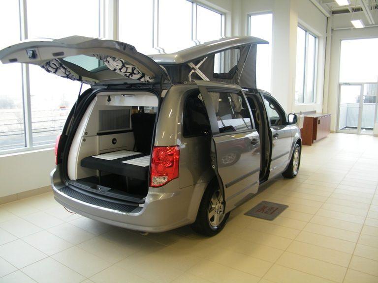 Dodge Caravan Rv Mini Van Camper Conversion Motorhome Conversions