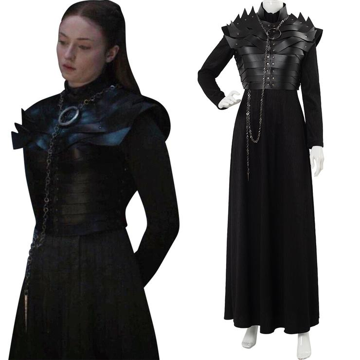 Game Of Thrones Staffel 8 S8 E2 Sansa Stark Cosplay Kostüm