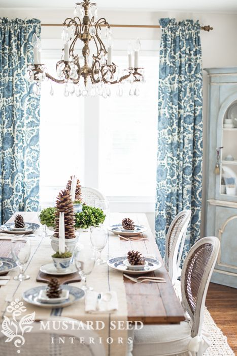 Transitional Table Setting