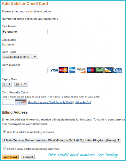 You Will Never Believe These Bizarre Truth Behind Fake Credit Card Numbers For Testing Fake Credit Car In 2020 Credit Card Numbers American Express Credit Card Cards