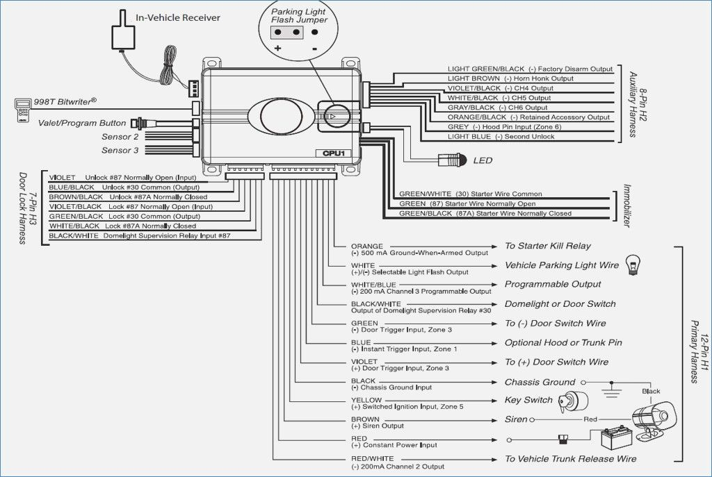 Clifford Car Alarm Wiring Diagram - Dolgular.com | Clifford ... on