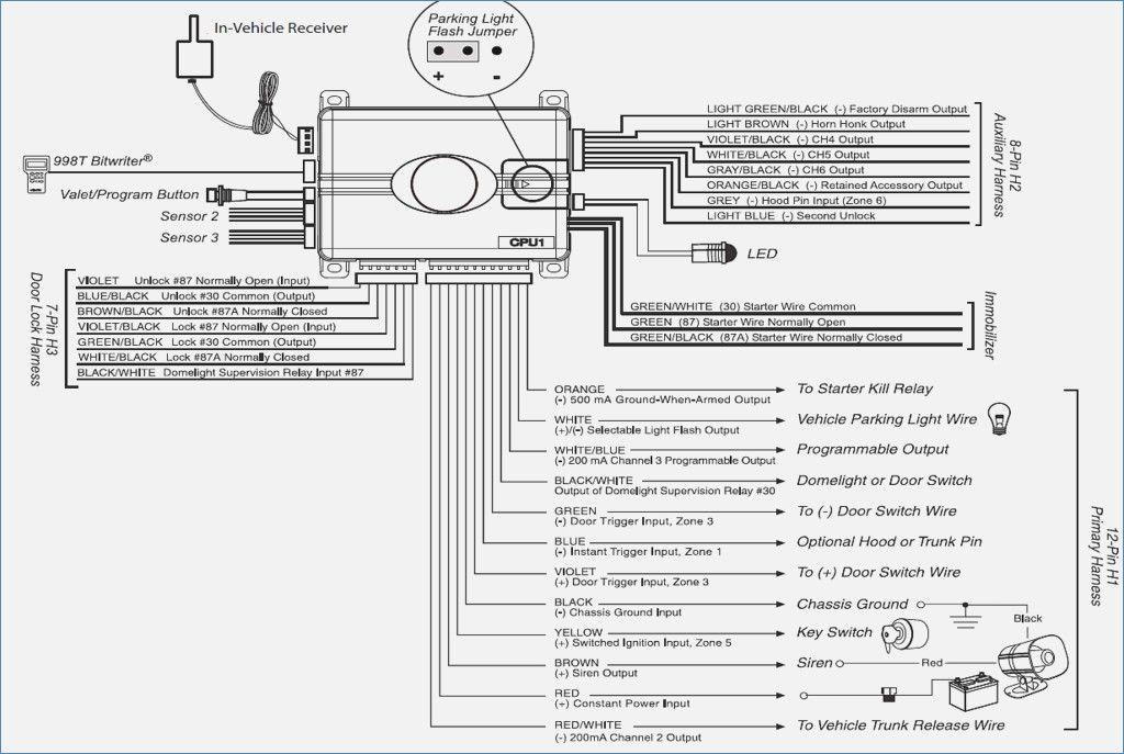 clifford car alarm wiring diagram  dolgular  car alarm