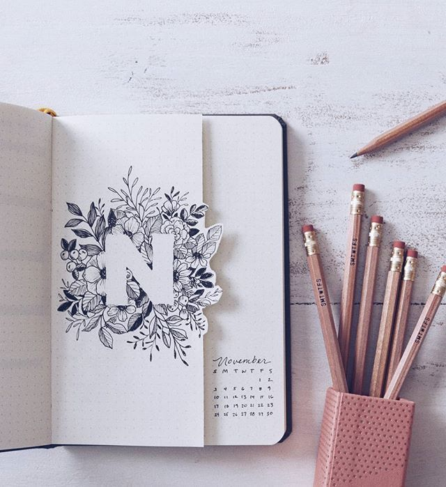 """Shayda Campbell auf Instagram: """"Einfach auf den November Plan-With-Me klicken! …   – Bullet journal – #auf #Bullet #Campbell #den #einfach"""