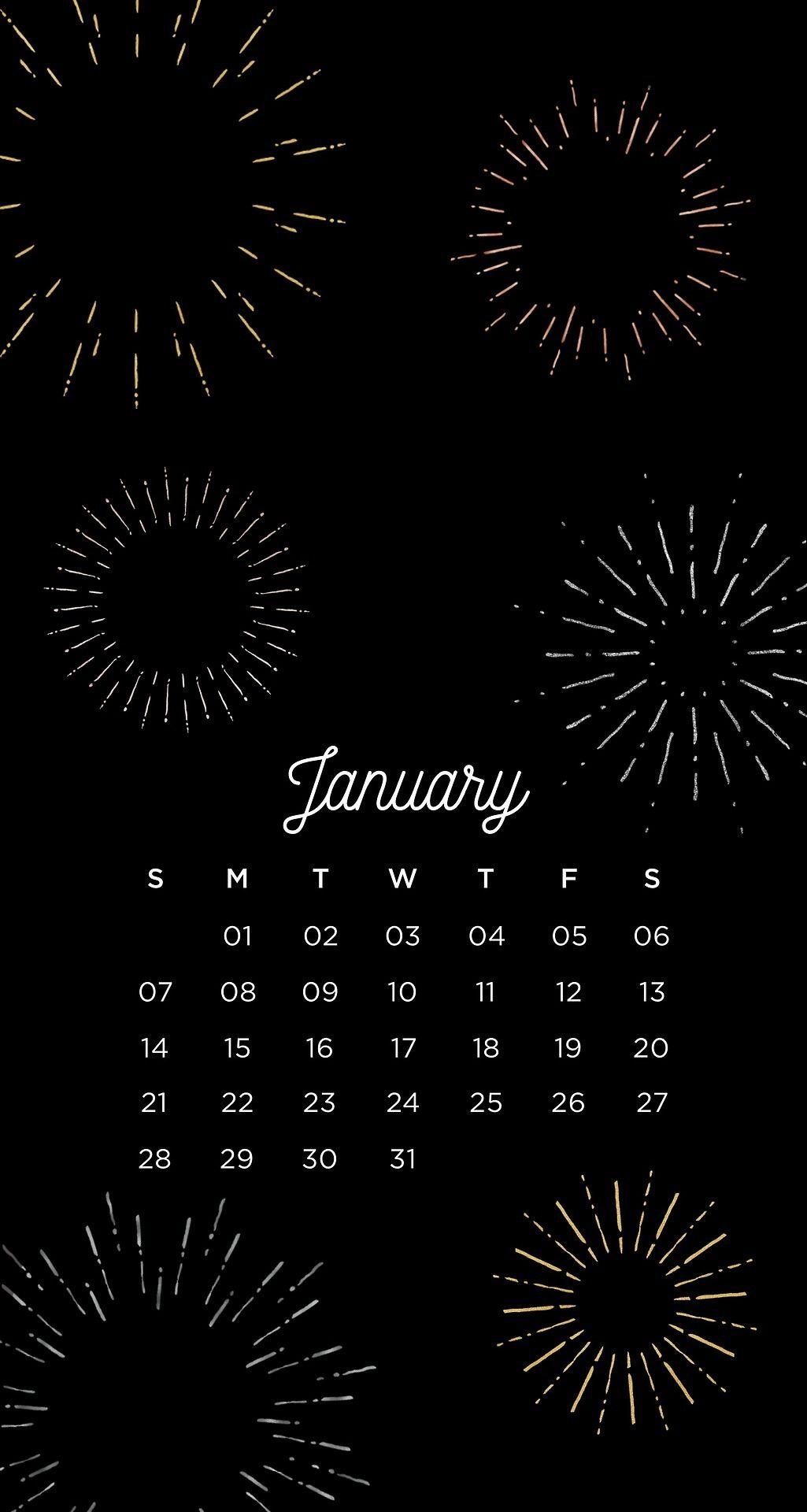 2018 New Year Celebration Wallpaper IPhone Phone Background