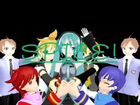 MMD - Hatsune Miku ~ Spice - YouTube