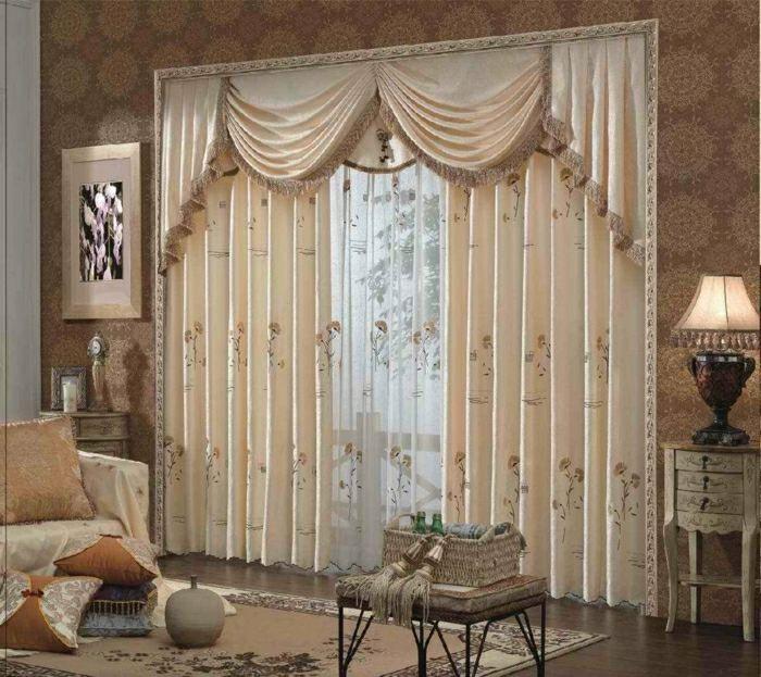 Moderne Vorhänge Wohnzimmer geben Sie eine Kokon Seite in den Raum - deko ideen vorhange wohnzimmer