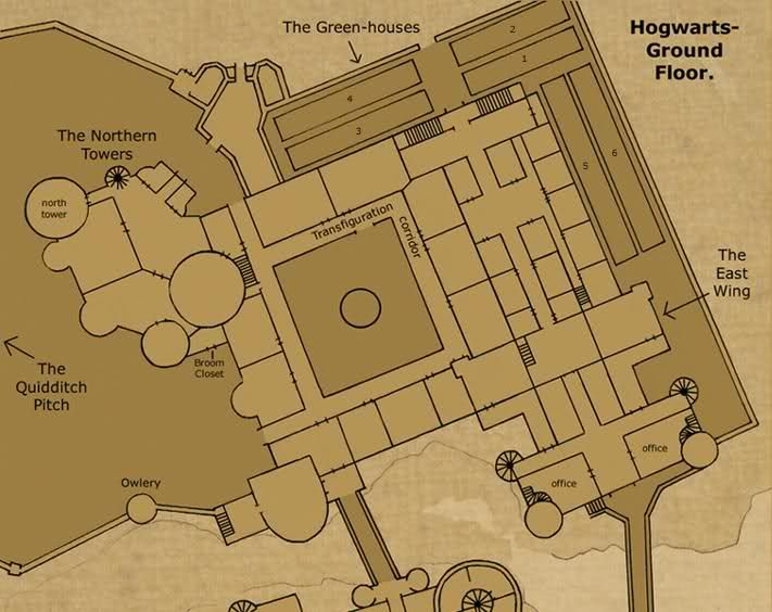 Hogwarts blueprint google search harry potter pinterest hogwarts blueprint google search malvernweather Image collections