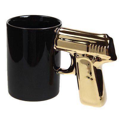 So cool .. Unique Pistol Cup :)