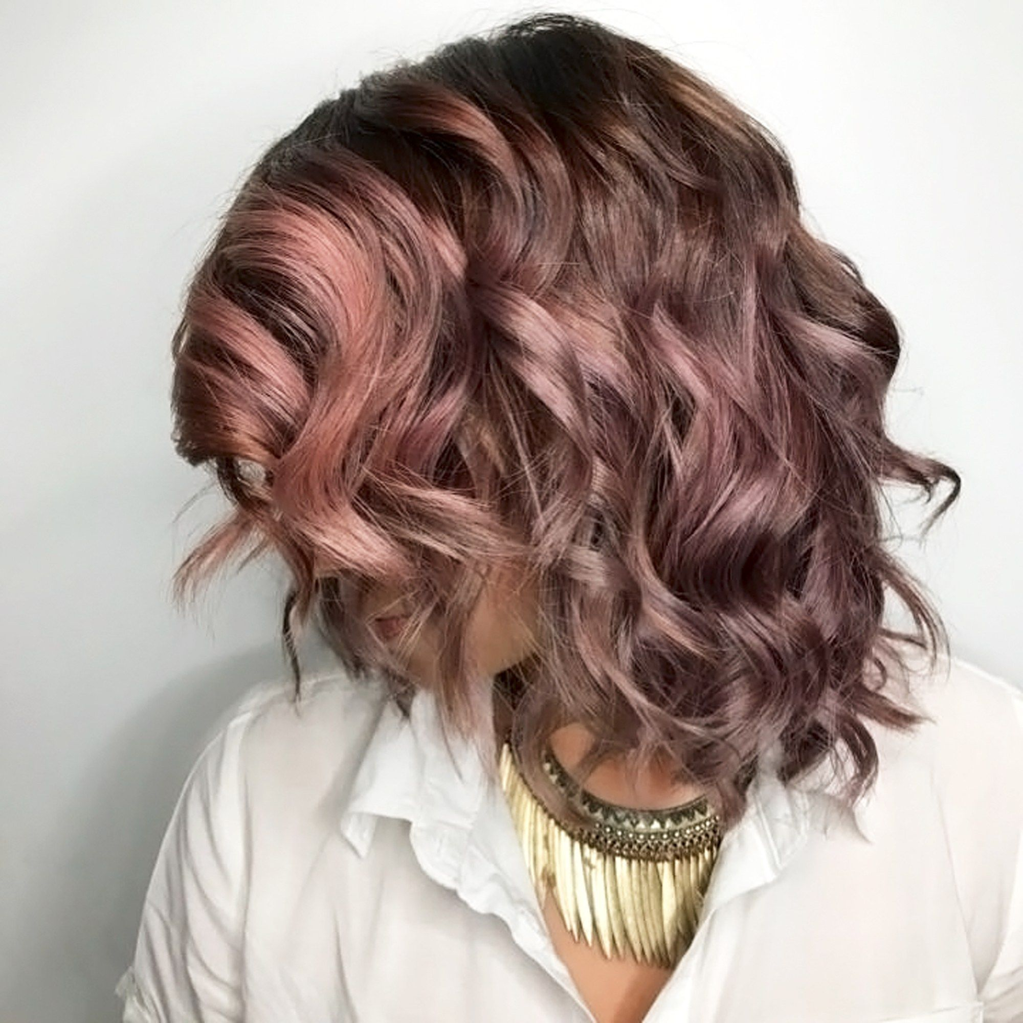 Chocolate-Mauve Hair Is the New Trend You Have to Try | Fall hair ...