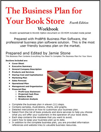 book shop business plan