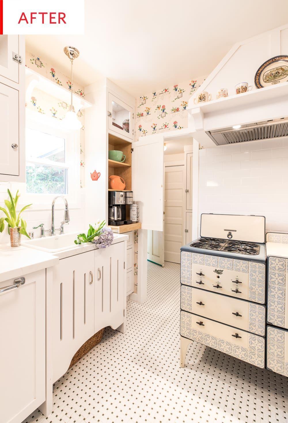 vintage kitchen remodel 1930s and 1940s decor apartment therapy in 2020 1940s decor retro on kitchen interior classic id=18592