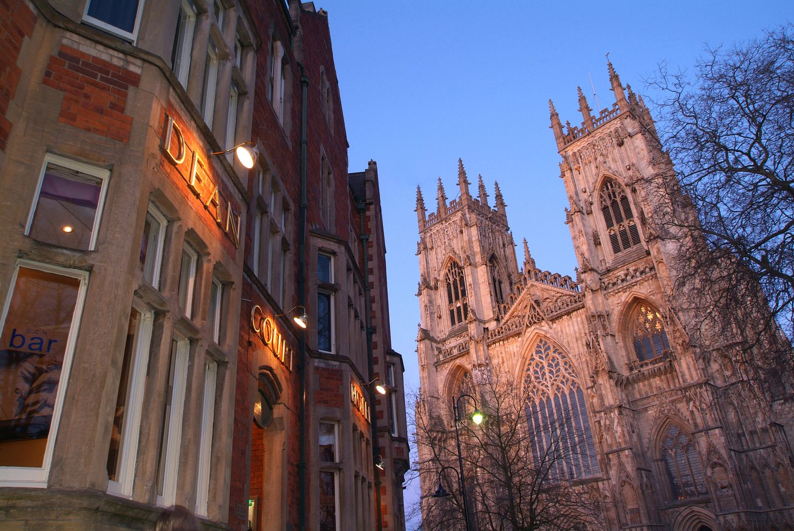 The Best Western Plus Dean Court Hotel Is A 4 Star Located In York And