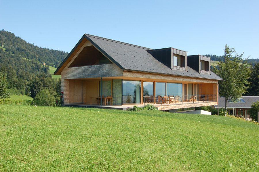 Holz bauten Architektur, Haus architektur und Haus bauen