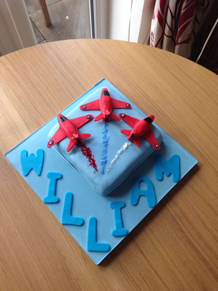 Red Arrow Birthday Cake