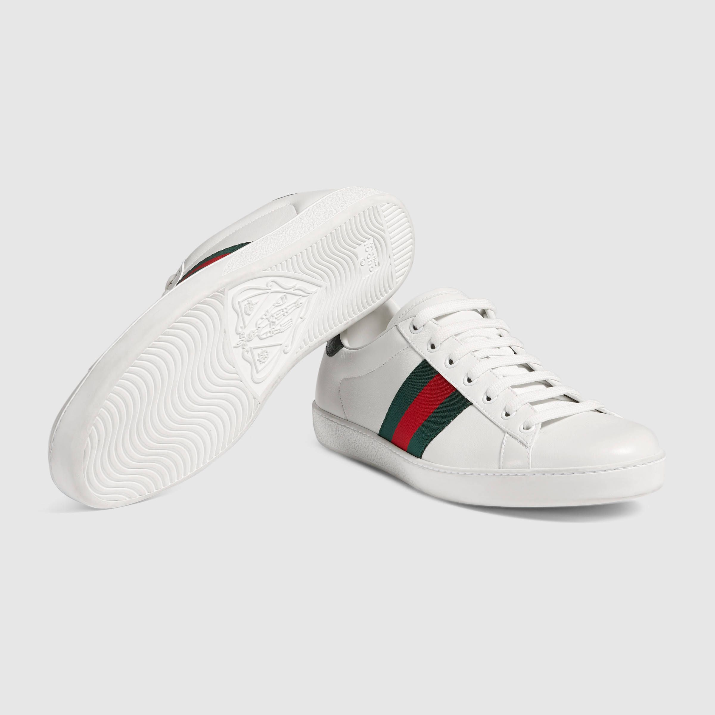 Gucci Ace leather sneaker Detail 5