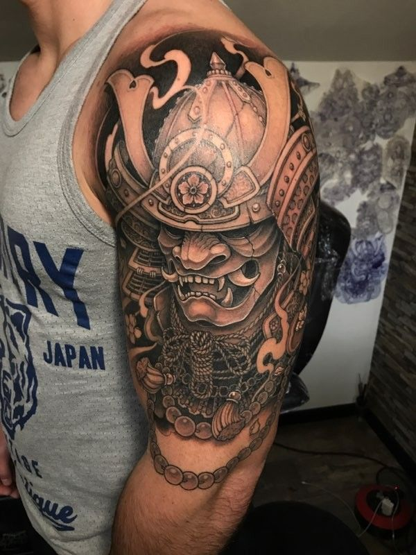 Mon tatouage - #samurai #tattoo - #Mon #Samurai #tatouage #tattoo | Mens  shoulder tattoo, Samurai mask tattoo, Mask tattoo