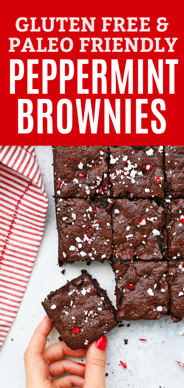 Gluten Free Peppermint Brownies (Paleo Friendly!) Gluten Free Peppermint Brownies - These paleo-fri