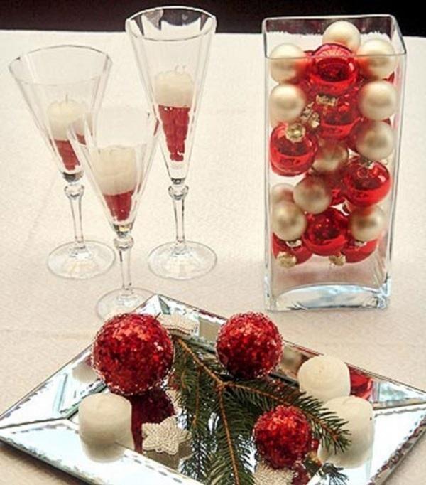 Centros de mesa caseros para navidad 9 pasos uncomo - Hacer centros de navidad ...