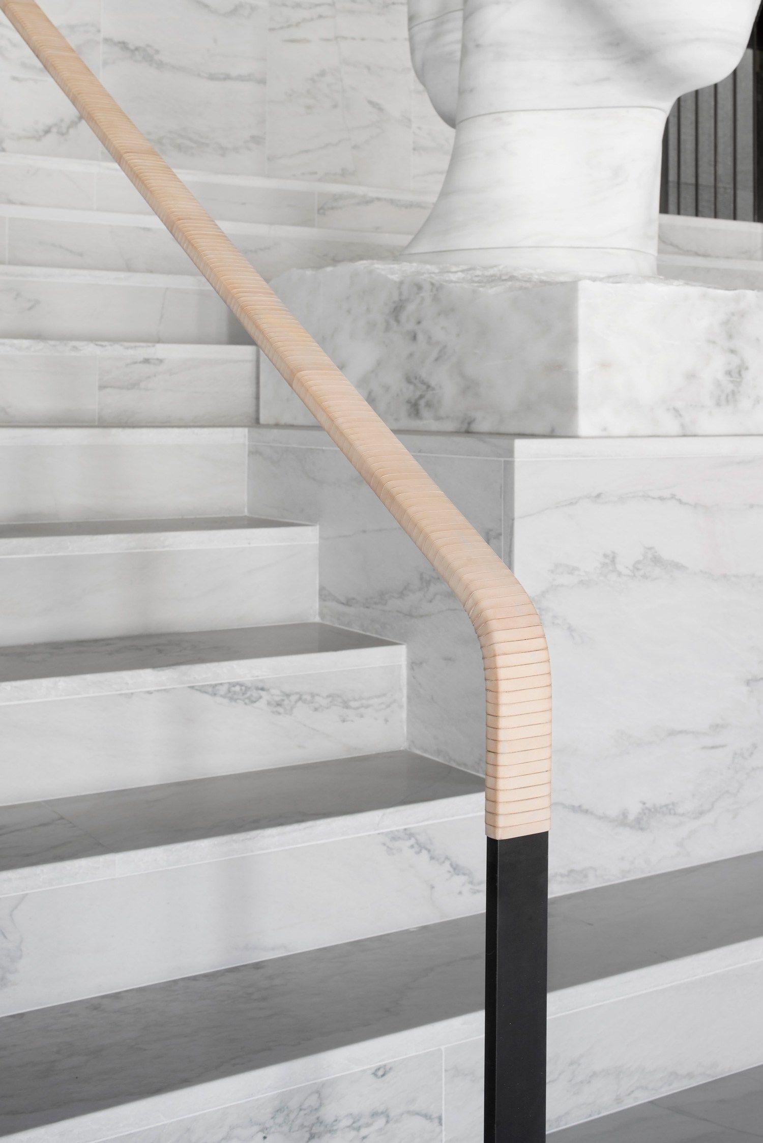 Home geländer design einfach at six hotel stockholm by universal design studio  architecture