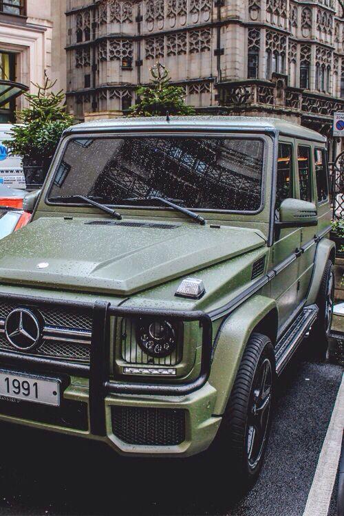 Mercedes Benz G Class Army Green G Class Mercedes G